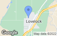 Map of Lovelock, NV