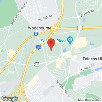 Map of Sprint at 2300 E Lincoln Hwy, Langhorne, PA 19047