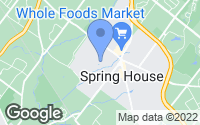 Map of Spring House, PA