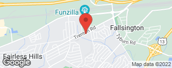 Map of 914 Trenton Rd in Fairless Hills