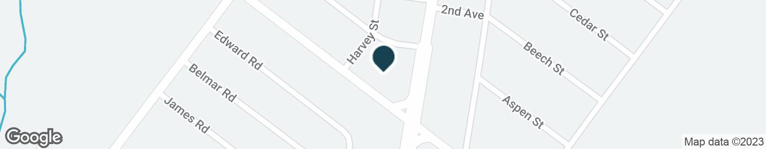 Google Map of10 YORK RD