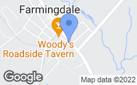 Map of Farmingdale, NJ