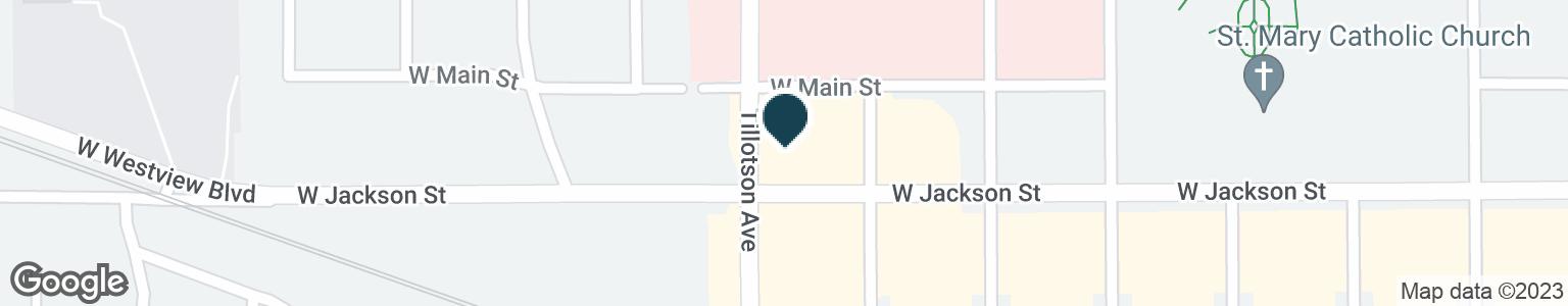 Google Map of2720 W JACKSON ST
