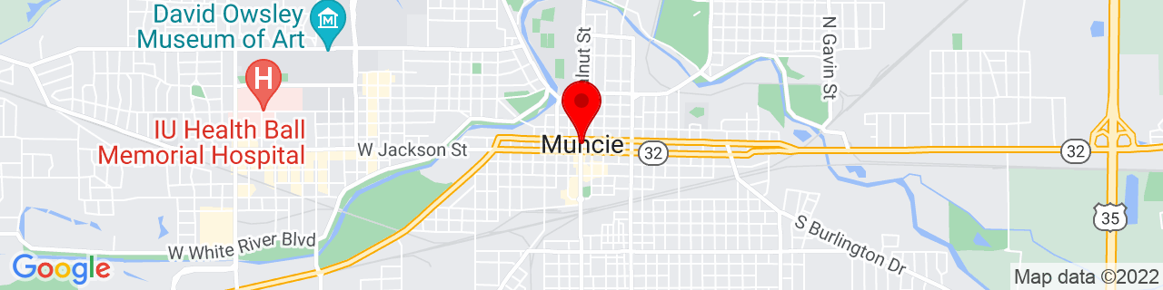 Google Map of 40.19333333333333, -85.3863888888889