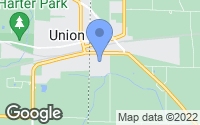 Map of Union City, OH