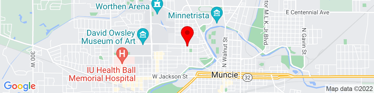 Google Map of 40.199756, -85.39736