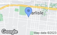 Map of Carlisle, PA