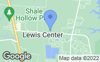 Map of Lewis Center, OH