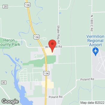 Map of Check `n Go Newell Rd at 22 East West Newell Rd., Danville, IL 61832