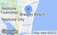 Map of Bradley Beach, NJ