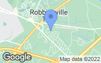 Map of Robbinsville, NJ