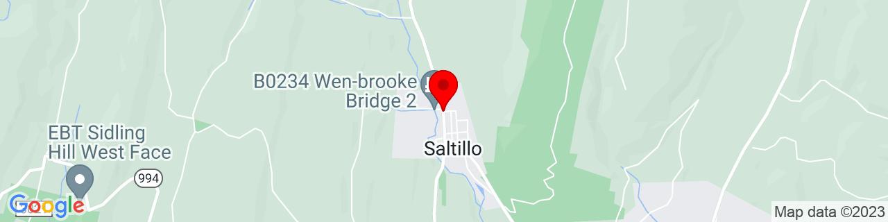 Google Map of 40.2134325, -78.00692939999999