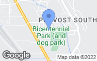 Map of Provo, UT