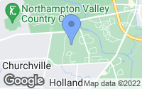 Map of Holland, PA