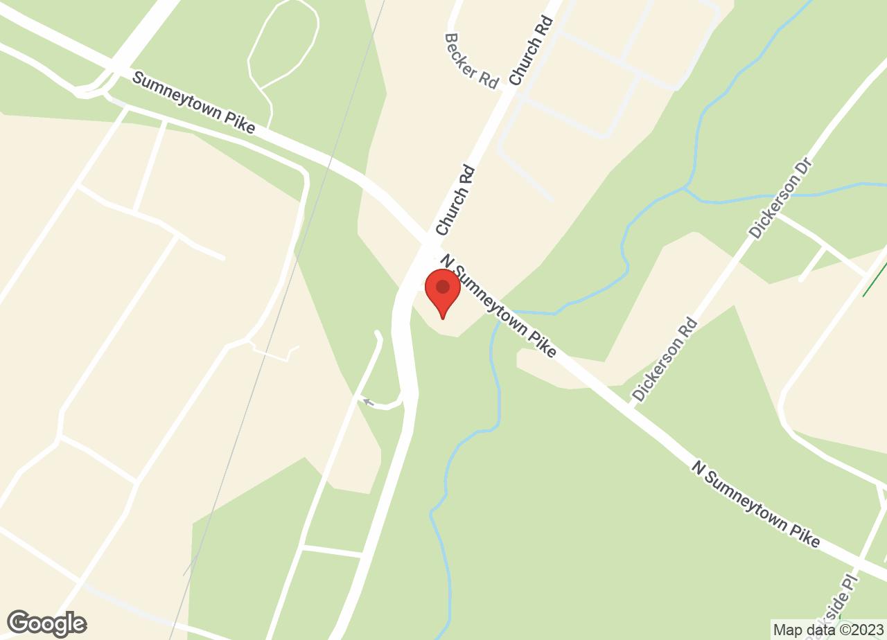 Google Map of VCA Gwynedd Animal Hospital