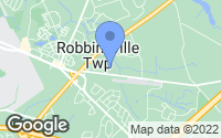 Map of Robbinsville Township, NJ