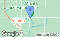 Map of Atlanta, IN