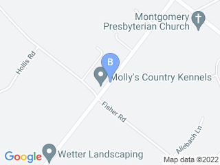 Map of Mollys Run Pet Supplies Dog Boarding options in Lansdale | Boarding