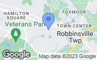 Map of Hamilton Township, NJ