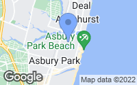 Map of Asbury Park, NJ