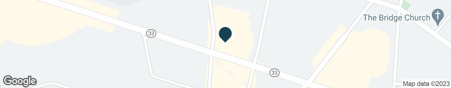Google Map of1096 HIGHWAY 33