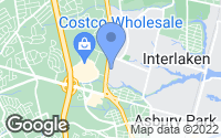 Map of Wanamassa, NJ