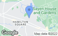 Map of Hamilton Township, NJ