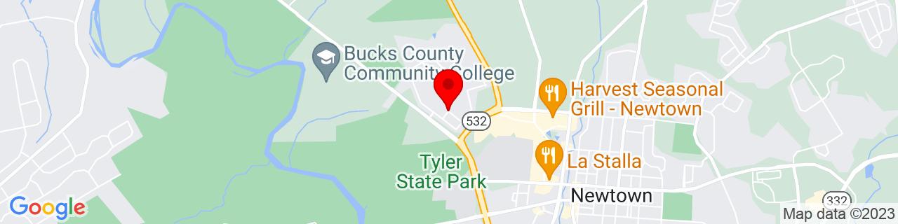 Google Map of 40.2362046, -74.9522401