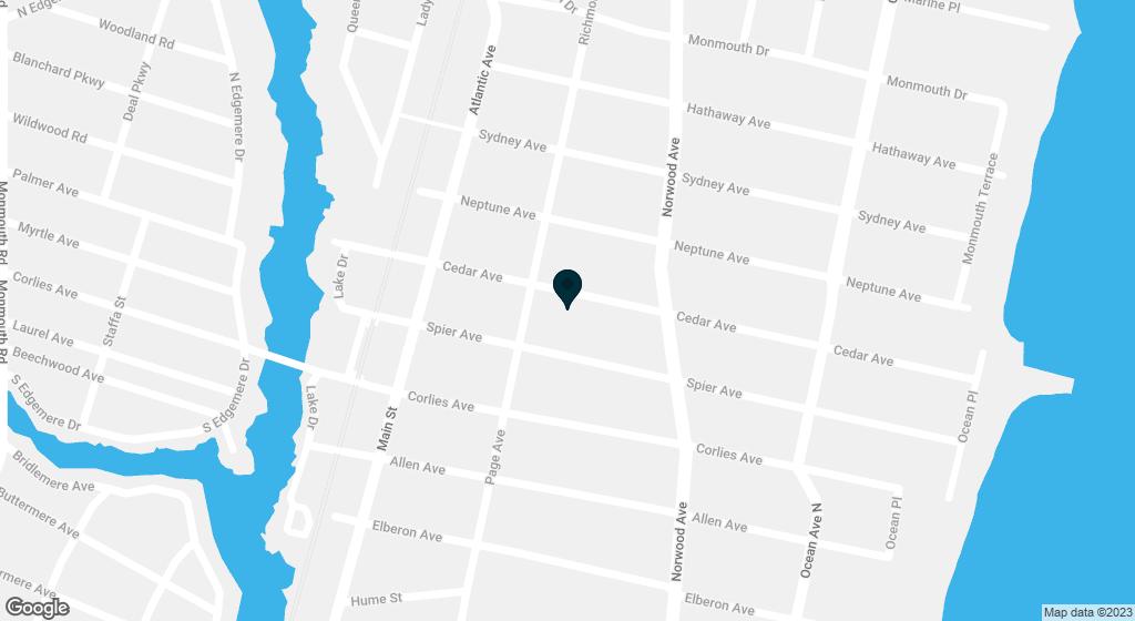 222 Cedar Avenue Allenhurst NJ 07711