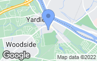 Map of Yardley, PA