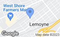 Map of Lemoyne, PA