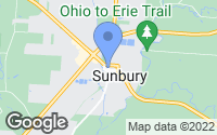 Map of Sunbury, OH