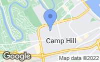 Map of Camp Hill, PA