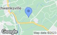 Map of Schwenksville, PA