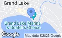 Map of Grand Lake, CO