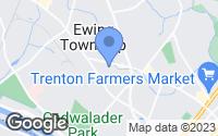 Map of Ewing Township, NJ