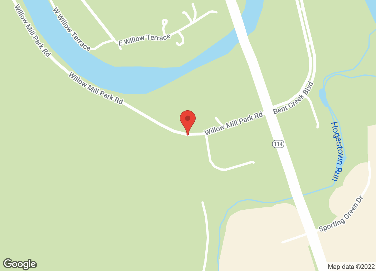 Google Map of VCA Willow Mill Animal Hospital
