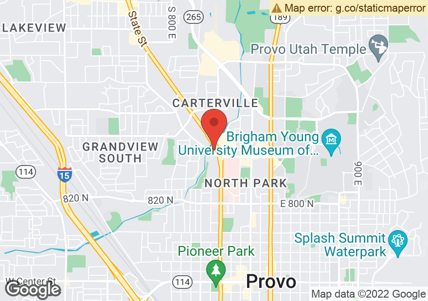 Google Map of 1315 N STATE ST