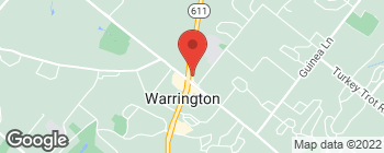 Map of 1409 Easton Rd in Warrington