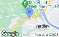 Map of Yardley, PA