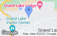 Map of Grand Lake, CO