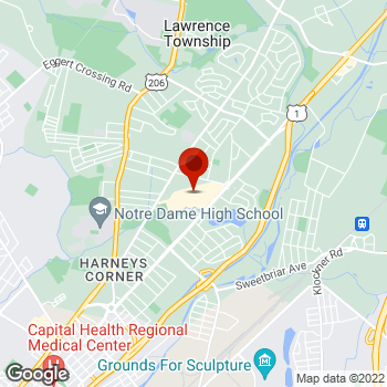 Map of Staples® Print & Marketing Services at 2495 Brunswick Pike, Lawrence, NJ 08648