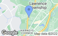 Map of Lawrence Township, NJ