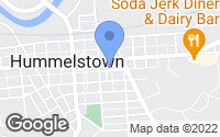 Map of Hummelstown, PA