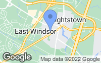 Map of Hightstown, NJ