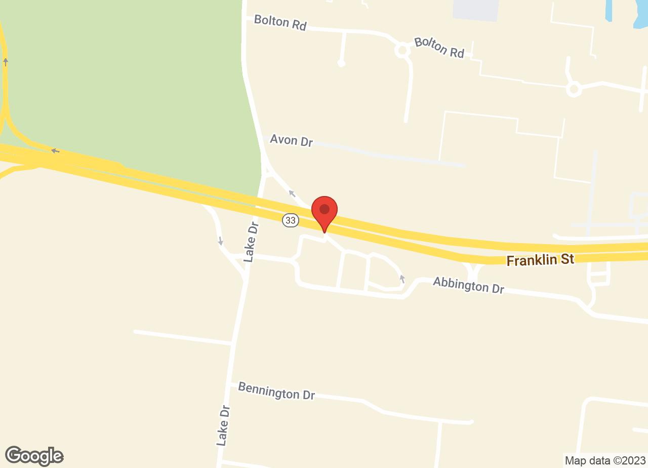 Google Map of Twin Rivers Animal Hospital