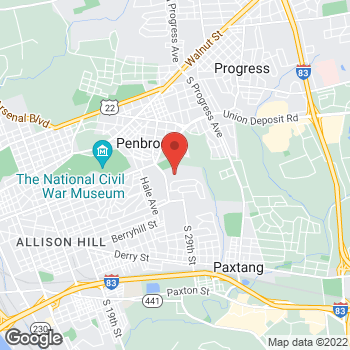 Map of Citi Trends at 130 Kline Village, Harrisburg, PA 17104