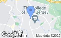 Map of Ewing Township, NJ