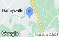 Map of Harleysville, PA