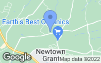 Map of Newtown, PA